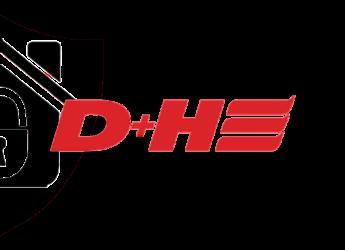 D+H logo systemy p.poż Bielak-Systemy