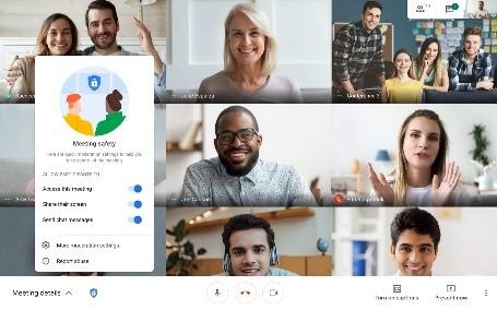 Prowadź rozmowy zdalne online Google Workspace