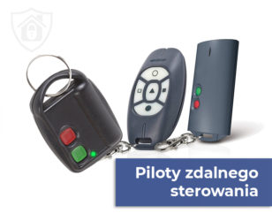 Piloty zdalnego sterowania, sterowniki radiowe do alarmu