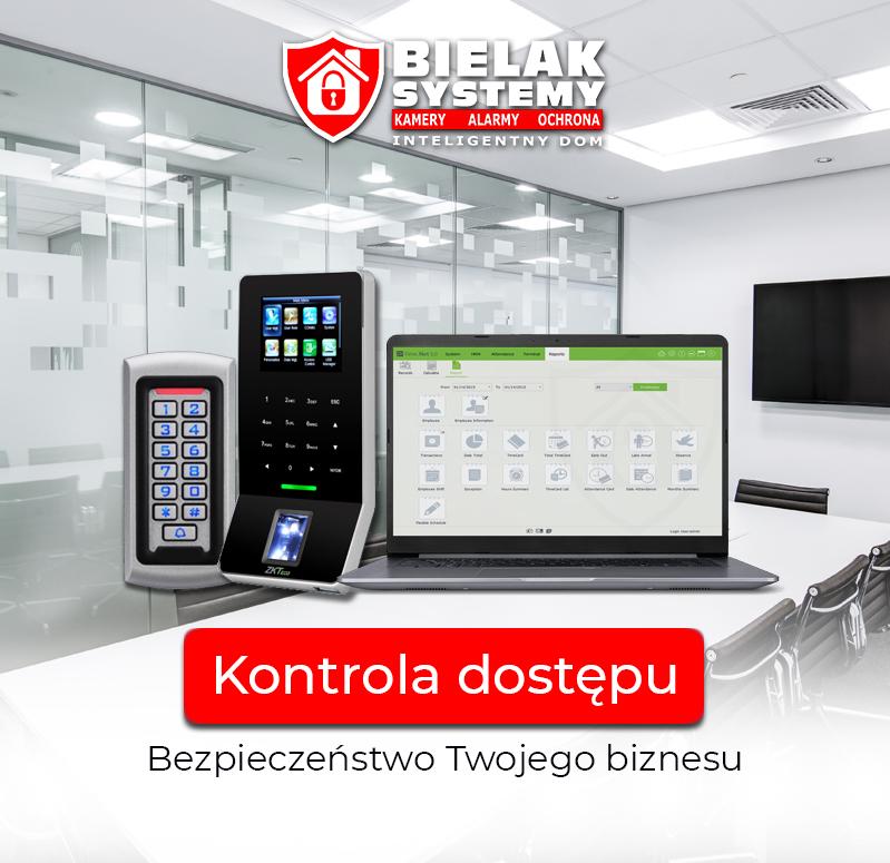 Kontrola dostępu, kontrola czasu pracy, bezpieczeństwo biznesu - URZĄDZENIA