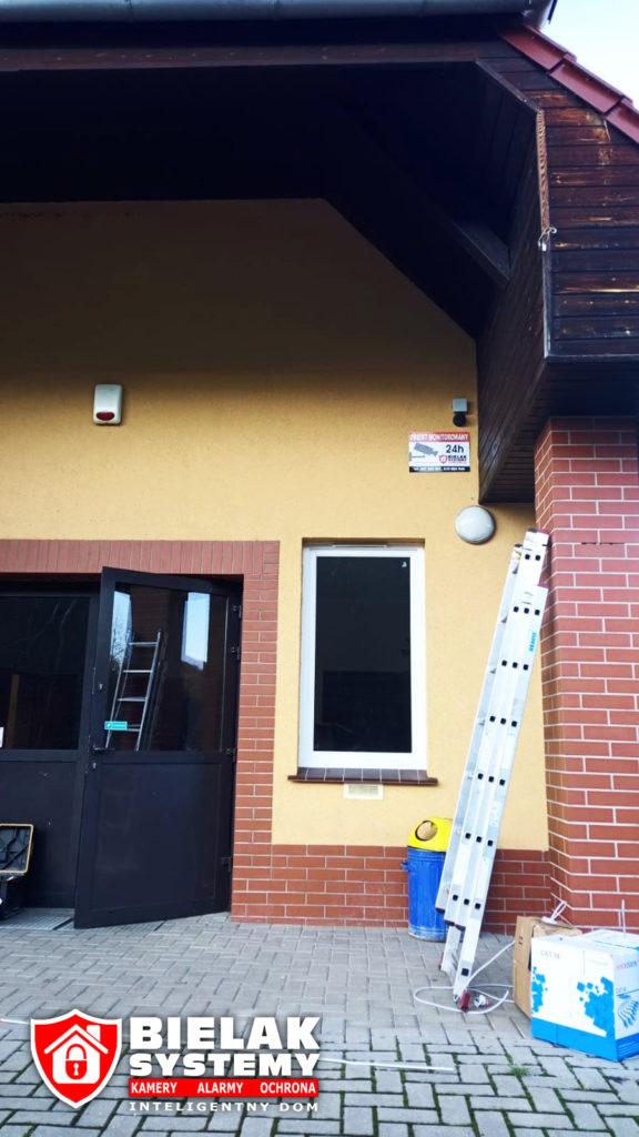 Instalacja kamer w świetlicy w Gminie Wleń