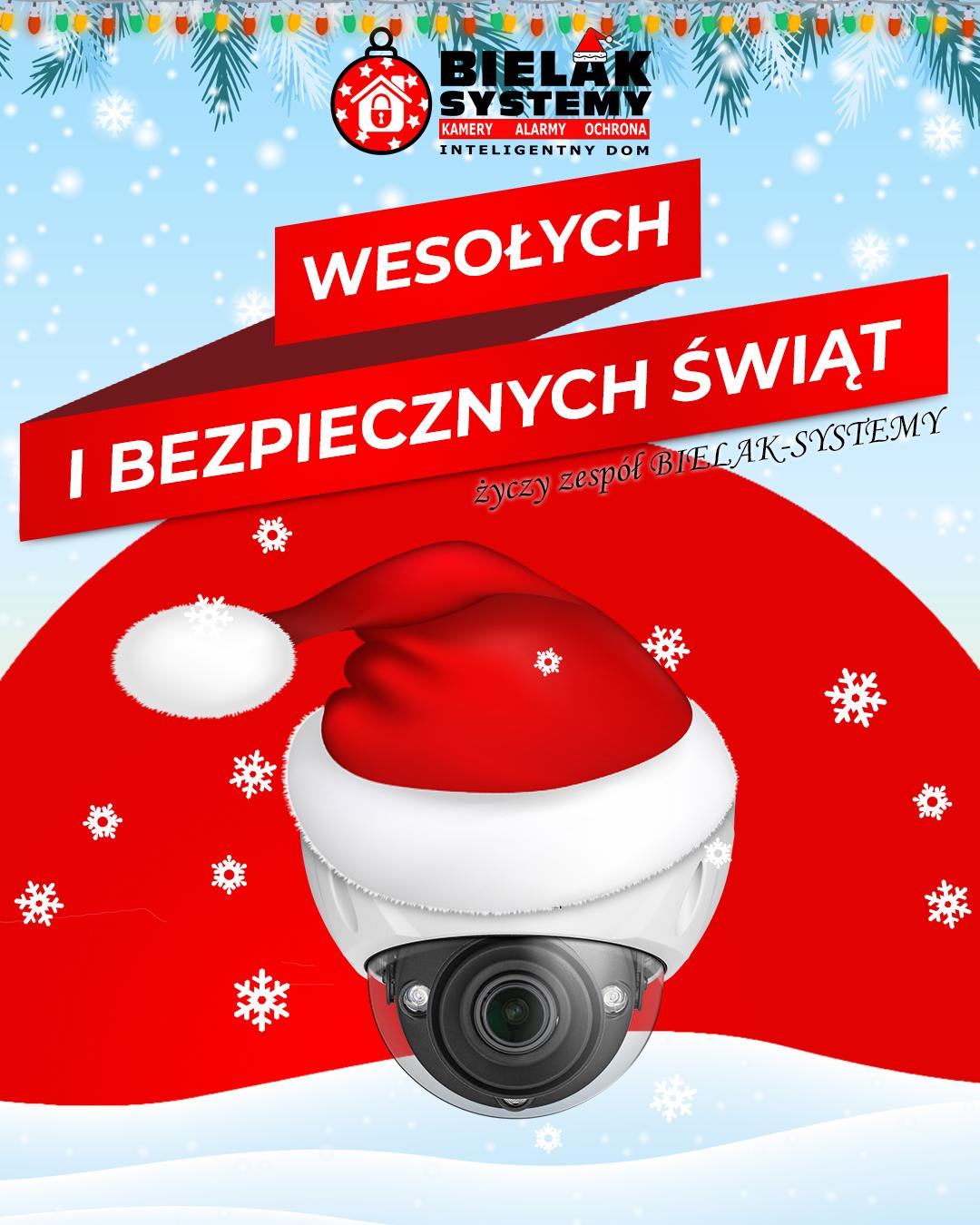 Życzymy Wesołych i Bezpiecznych Świąt Bożego Narodzenia