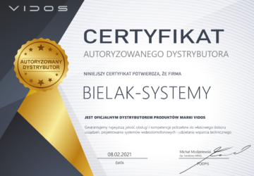 Autoryzowany dystrybutor sprzedawca systemów wideodomofonów Vidos
